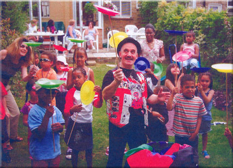 London Children party magician
