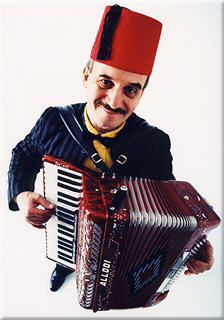 Top Wedding magician and Accordion player in London